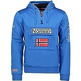 Geographical Norway GYMCLASS Men - Sudadera Capucha Bolsillo