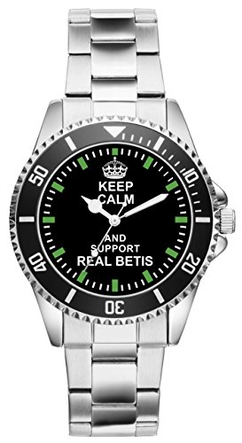 Reloj con texto 'Keep Calm and Support Real Betis' 1943