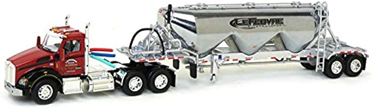 Die Cast Promotions (DCP) 1/64 Kenworth T880 with Pneumatic Heil Commodity Trailer, Lefebvre & Sons, 2017 NTT&C