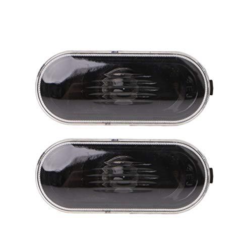 N\A Scheinwerferglas, Neue Käferanzeige Strahl Birnenabdeckung Neue 2-TLG-freie Side-Marker Blinklicht for MK4 B5 B5.5 R32