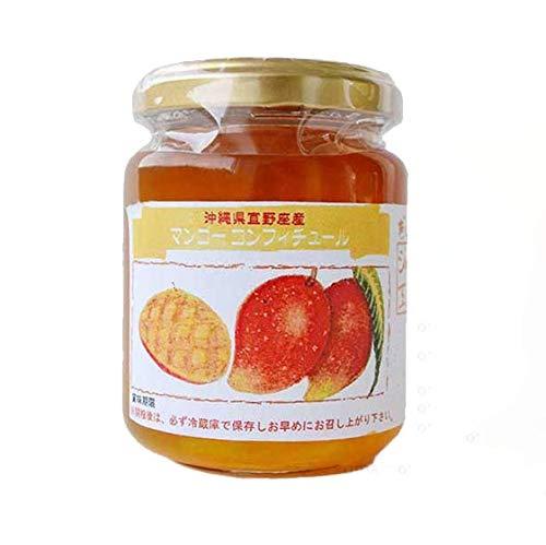 手作りコンフィチュール マンゴー 140g×6瓶 ぎのざジャム工房 沖縄県宜野座産 南国の果物がぎっしりつまったこだわりの手作りコンフィチュール マンゴーの優雅な甘みと香りがたまらなく美味しい パンやヨーグルトなどはもちろん、お料理の隠し味にも