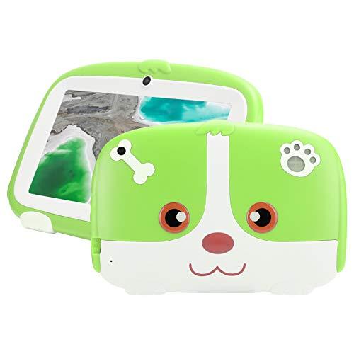 Tablet per Bambini da 7 Pollici, Quad Core Android, ROM da 16 GB, WiFi, Bluetooth, E-reader per L'apprendimento Educativo, Controllo Genitori, Custodia per Tablet per Bambini, Tablet Android 9.0,(EU)