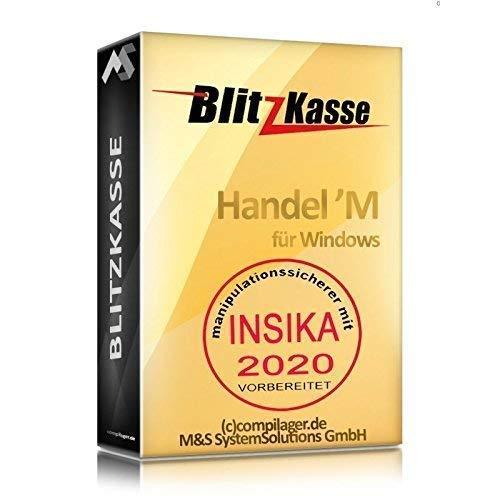 WIN Kassen-Software Blitzkasse Handel für Einzelhandel: Kiosk, Imbiss, Laden GDPdU GoBD KONFORM, INSIKA-vorbereitet