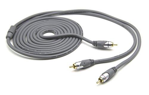 G & BL Subwoofer Y-kabel 10,0m grijs