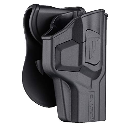 """Polymer OWB Holster for Springfield Armory XD 4"""" Compact / HS2000 - Index Finger Released 