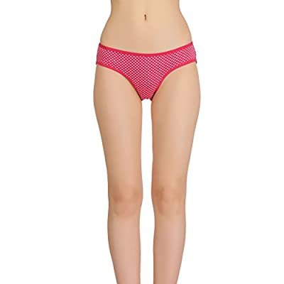Popocracy Regular Women's Underwear Bikini Cotton Hosiery Color - Pink Size - M