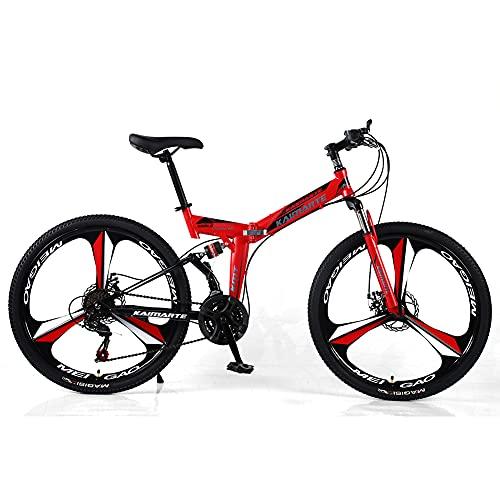 Liu Yu·casa creativa Bicicleta De Montaña para Adultos, Ruedas De 24 Pulgadas, Bicicleta de montaña Cross-Country de 21/24/27 velocidades,Frenos de Doble Disco con absorción de Impactos