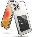 Ringke Fusion Design Compatible con Funda iPhone 12 Pro MAX (2020) 6,7 Pulgadas, Fina Slim Rigida Carcasa Parachoque TPU - New York : Label