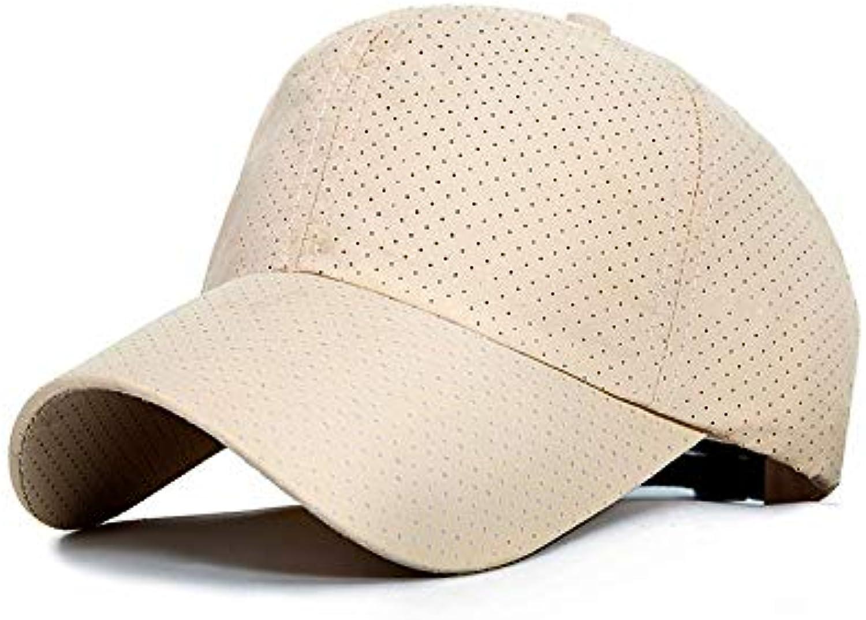 AAMOUSE Fashion Design mesh Baseball Cap Pure Summer color Adjtable Cap Breathable Sport Hats Men dad hat Bone