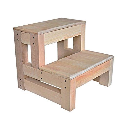 Ménage en bois tabouret pliant échelle de maison tabouret escabeau tabouret de levage chaise pliante tabouret multifonctionnel cuisine banc haut Escabeau