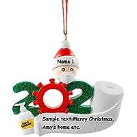 YiGooood Personalized Quarantine Family 2020 Christmas Ornaments