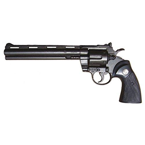 Deko Waffe Revolver Python Kal .357 Magnum, ultralang