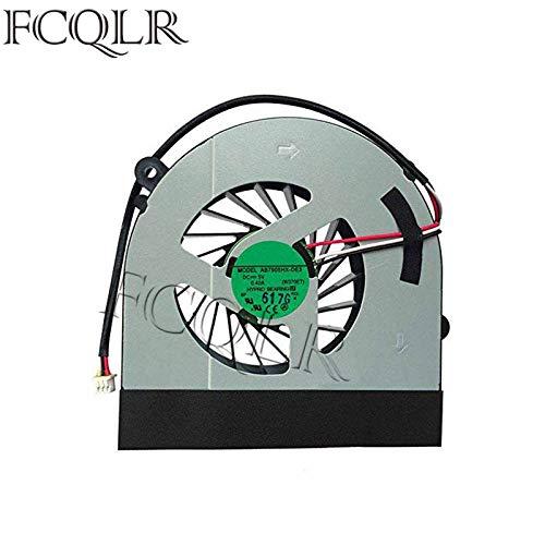 FCQLR Laptop CPU Kühlung Lüfter kompatibel für Clevo W150 W350ETQ K590S K660E W370 W370ETQ W370SKQ AB7905HX-DE3 6-23-AW15E-010 6-23-AW15E-011 Notebook
