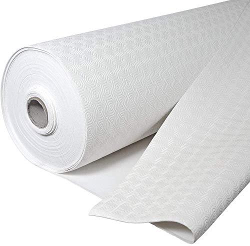 Mollettone cerato goffrato, base imbottita impermeabile con PVC e cotone, protegge il tavolo da urti e graffi