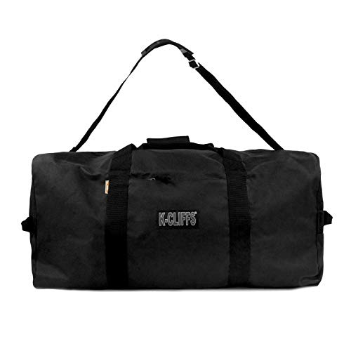 Heavy Duty Cargo Duffel Large 42 Inch Sport Gear Drum Set Equipment Hardware Travel Bag Rooftop Roofbag Rack Bag 42 Inch Black Traveling Bags