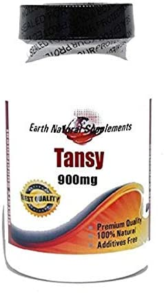 online shopping Tansy 900mg 180 Capsules Ranking TOP10 100% - by EarhNaturalSuppleme Natural