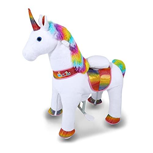 cute riding unicorn for girls