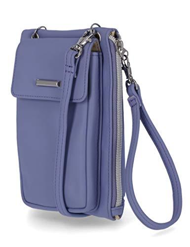 MUNDI Cornelia RFID Crossbody Phone Bag For Women Phone Wallet Cell Phone Purse (Dusty Lavender)