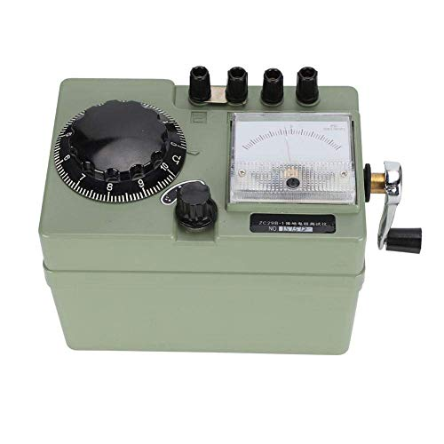 DXX-HR Medidor de resistencia anti-trueno Manivela Tierra Tierra Medidor de resistencia Instrumento de prueba 1000Ω (ZC29B-1)