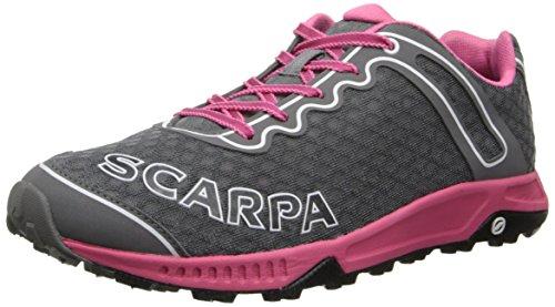 Scarpa Womens TRU WMN-W, Grey/Pink, 39.5 EU/7 M US