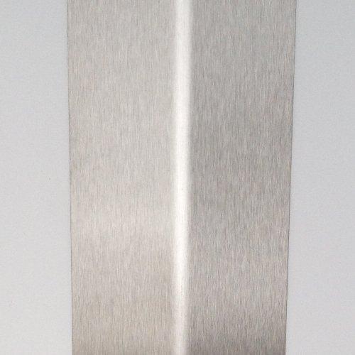 Edelstahl Eckschutzschiene 1000mm lang Schenkel 65/65mm