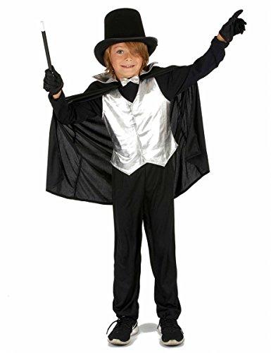 Generique - Disfraz de Mago Plateado niño 10-12 años (L)