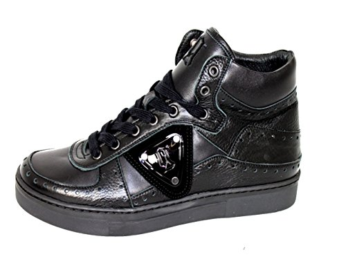 John Galliano Herrenschuhe Schuhe Sneakers Shoe Ankle Boots 1212 schwarz EU 46