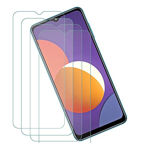 ELANG Tempered Glass Screen Protector for Samsung Galaxy M12 (6.5 inch),Case Friendly 9H Hardness HD Clear Anti-Fingerprint Film for Samsung Galaxy M12 [4-Pack]