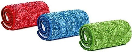 Greatbuyz Microfiber Spray Mop Replacement Head Pads - Set of 3 (Multicolour)