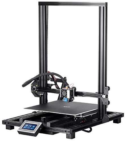 Monoprice MP10 3D Printer - Black with (300 x 300 mm) Magnetic Heated Build Plate, Resume Printing Function, Assisted Leveling, and Touch Screen