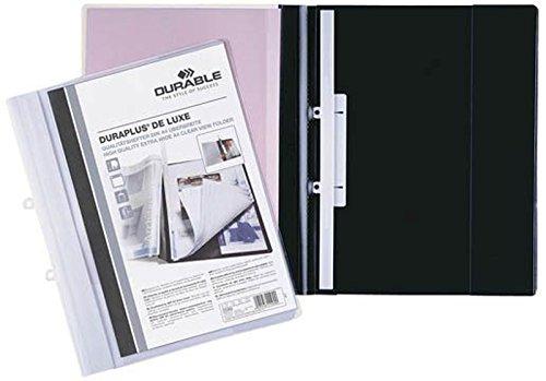 Durable Duraplus de Luxe Schnellhefter (DIN A4 überbreit) schwarz