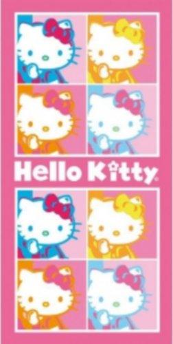 Toalla de Playa Hello Kitty Arte Pop 75X150