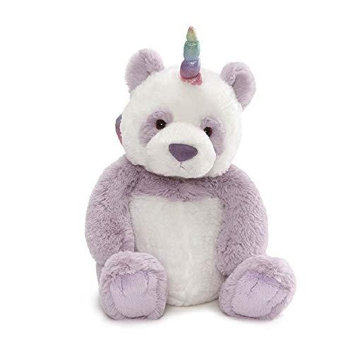 GUND 6052136 Glitz Pandacorn Panda Unicorn Plush Stuffed Animal, 9 inches, Multicolor
