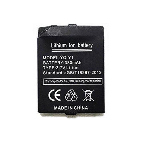 OCTelect Smart Watch Batterie Y1 wiederaufladbare Lithium-Batterie mit 380MAH Kapazität