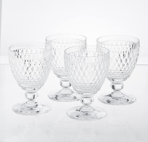 Boston Wine Goblet Set of 4 by Villeroy & Boch - Clear
