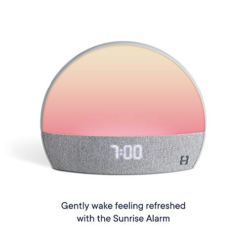Hatch Restore - Sound Machine, Smart Light, Personal Sleep Routine, Bedside Reading Light, Wind Down Content and Sunrise Alarm Clock for Gentle Wake Up