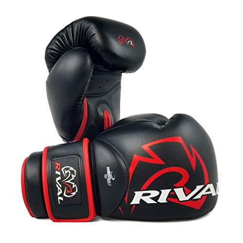 RIVAL RS4 Aero 2.0 Sparring Boxing Gloves Black Training Premium Fight...