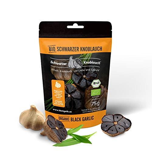 Schwarzer Knoblauch ungeschält und in Bio-Qualität von Mustkuuslauk