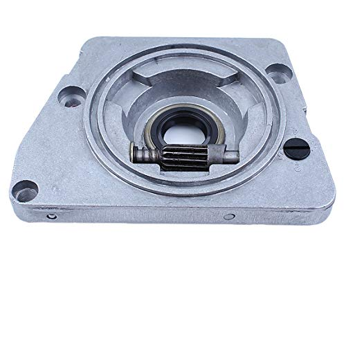 Haishine Oil Pump Drive Worm Gear Clutch Dust Cover Set for JONSERED 625 630 670 Chainsaw Replacement Parts 501512501