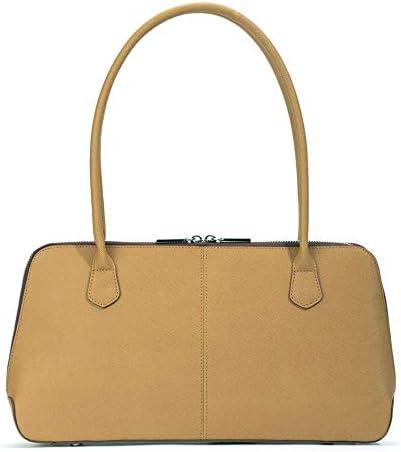 Hobo Women's Paulina Wheat Saffiano and Venice Leather