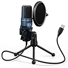 PLUG AND PLAY: TONOR microphone TC-777 is equipped with a USB 2.0 data port, without the need for additional driver software, sound card or phantom power, plug and play. It is compatible with Macs and PCs. Ideal for gaming, streaming, chatting, podca...