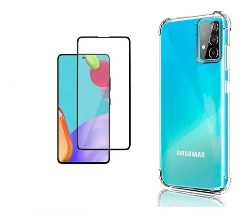 Capa Capinha Anti Impacto Para Samsung Galaxy A72 (6.7) + Pelicula Vidro 3d 9d - (C7COMPANY)
