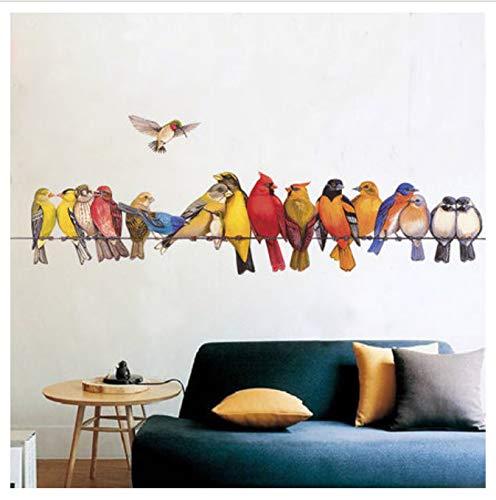 hfwh muursticker, om zelf te maken, vinyl, zelfklevend, 60 x 90 cm
