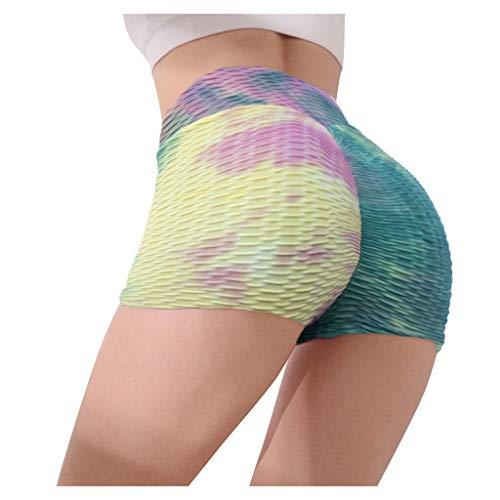 RODMA Femmes Short De Yoga Serré Feuillet De Base Shorts De VéLo Compression Legging D'EntraîNement Shorts De Yoga