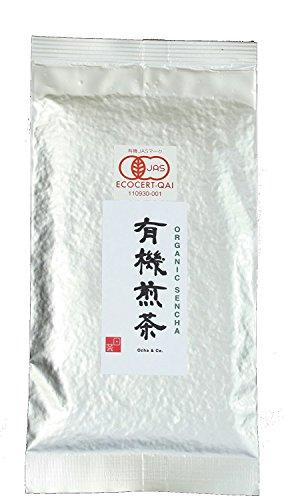 Ocha & Co. Premium Organic Japanese Sencha Loose Leaf Green Tea 100g 3.5oz.