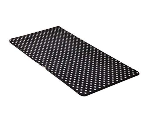 Microfibra Flanela Tela Alfombrillas De Ba?O Tapetes Para De Sala De Estar Nreto Blanco 50 * 160cm
