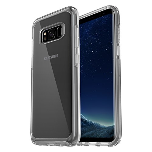 OtterBox Symmetry clear hoch-transparente sturzsichere Schutzhülle für Samsung Galaxy S8, transparent