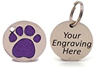 """Laser Engraved - BLACK LETTERING MAKES YOUR TEXT STAND OUT Up to 5 lines of Text of 14 characters per line (including spaces) Supplied in an Engravables Branded plastic bag Click """"Customize Now"""" to see how your gift will look before making any purcha..."""