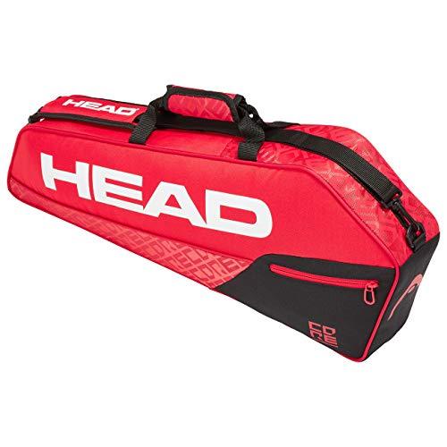 Head Core 3R Pro Bolsa de Tenis, Adultos Unisex, Rojo/Nero