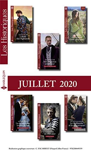 Pack mensuel Les Historiques : 6 romans (Juillet 2020) (French Edition)